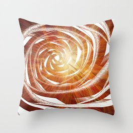 Brilliant Vortex Throw Pillow