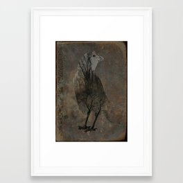 Inside Crow Framed Art Print