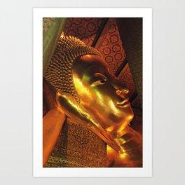 Buddha - Bangkok - Thailand Art Print