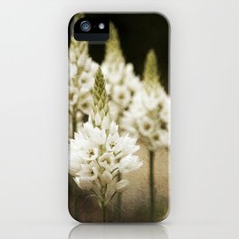 Candle Flowers iPhone Case