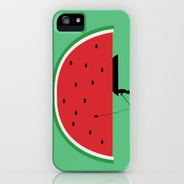 Watermelon Fisher iPhone Case