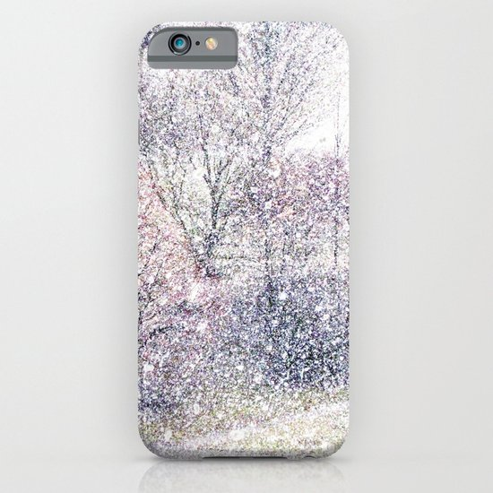 Snow in early fall(2). iPhone & iPod Case
