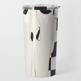 « un personnage » Travel Mug