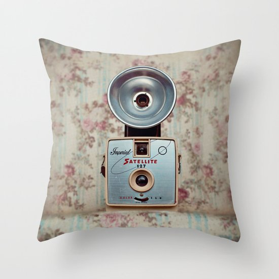 Imperial Satellite 127 Throw Pillow