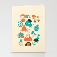 turtles Stationery Cards featuring Turtles by Jay Fleck