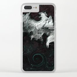 Mists of Time Clear iPhone Case