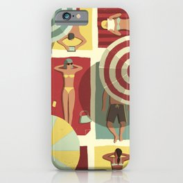 Summertime iPhone Case