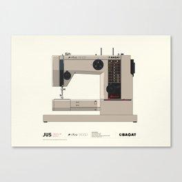 Sewing machine Ruža Step - Bagat Canvas Print