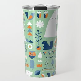 Forest animals Travel Mug