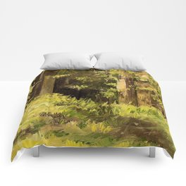 Woodland Landscape Nature Art Comforters