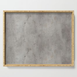 Dirty Bare Concrete Serving Tray
