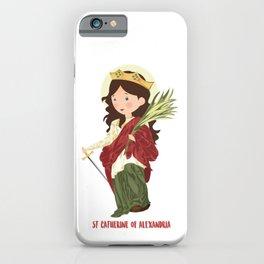 S.t. Catherine of Alexandria iPhone Case