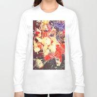 koi fish Long Sleeve T-shirts featuring Koi Fish by Georgiart