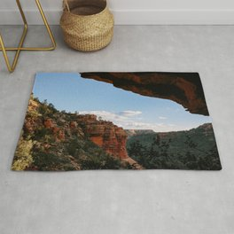 Sedona Sights From Under A Natural Arch Rug