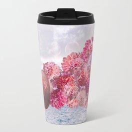 Floral Fog Horn Travel Mug