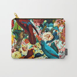 FLORAL AND BIRDS XV Carry-All Pouch