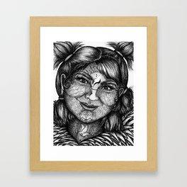 Wisdom Keeper Black & White #11 (Idealism) Framed Art Print