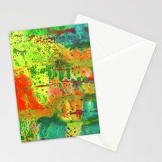 Abstract of watercolor Stationery Cards