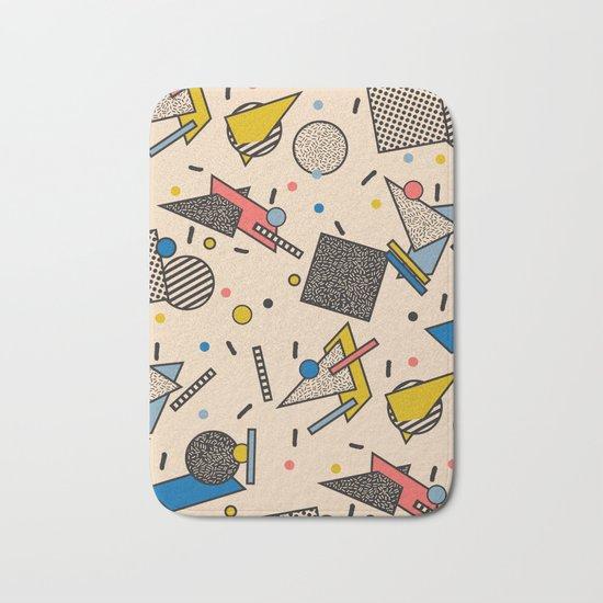 Memphis Inspired Pattern 7 Bath Mat