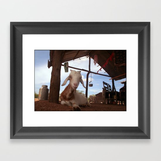 Kaulachon (Little Gout) Framed Art Print