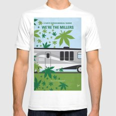 No763 My We are the Millers minimal movie poster Mens Fitted Tee MEDIUM White