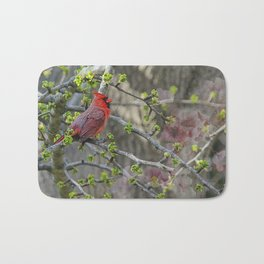 His Majesty the Cardinal Bath Mat