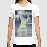 dog T-shirts featuring Dog by Falko Follert Art-FF77