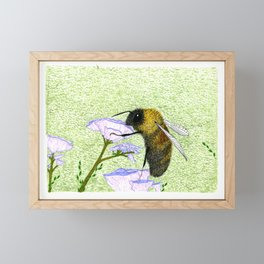 Rusty Patched Bumble Bee Framed Mini Art Print