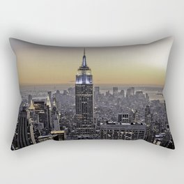NYC City Scape - New York Photography Rectangular Pillow