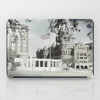 jfk iPad Cases featuring SPRING IN DEALEY PLAZA by Johnny Cashley