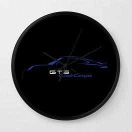 GTS Club Coupe Wall Clock