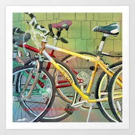 Bicycle Therapy Focus Art Print