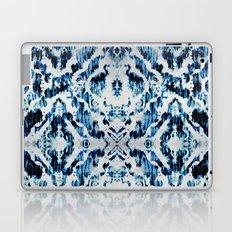 Peacock Tie-Dye Damask Laptop & iPad Skin