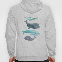 I love whales Hoody