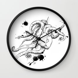 Octoheart Wall Clock