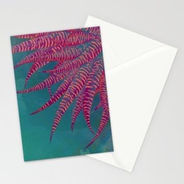 Agave psychedelic colors Stationery Cards