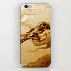 Sparrow by Moonlight iPhone Skin