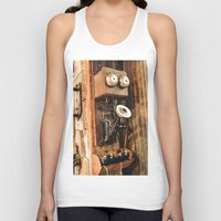telephone Tank Tops featuring Telephone by Imaginatio