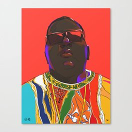 Biggie Smalls Canvas Print