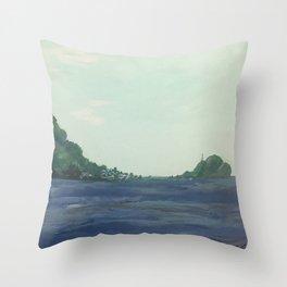 Scotts Head (Dominica #1) Throw Pillow