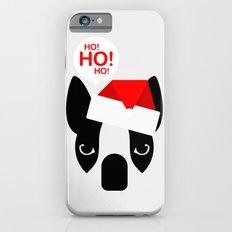 Santa Boston Terrier iPhone 6s Slim Case