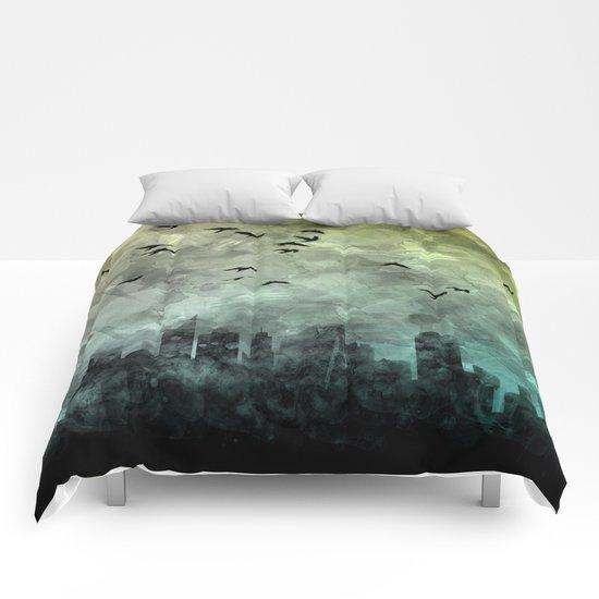 blue city Comforters