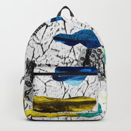 Space collage Backpack