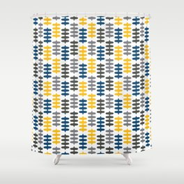 Joy collection - Yellow leaves Shower Curtain