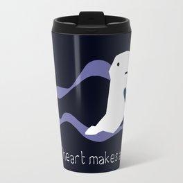 Ghost Heart Travel Mug
