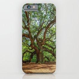 Angel Oak - Ancient Tree on Johns Island South Carolina iPhone Case