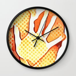 Trapped ~ Right hand Wall Clock