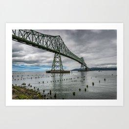 Astoria - Megler Bridge Art Print