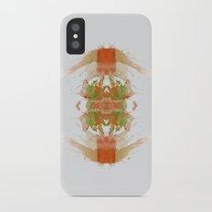 Inknograph IV - Ink Blot Art iPhone X Slim Case