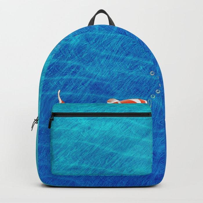 the last koi Backpack